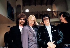 The Traveling Wilburys, 1988; photographed by Neal Preston.