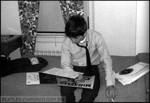 George Harrison; United States, Illinois; Benton; September 26th 1963