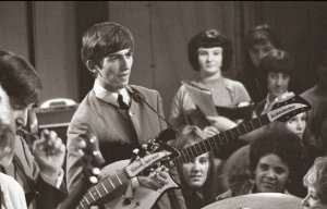 October 4, 1963 Our baby, George, on Ready, Steady, Go!