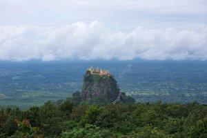 Mount Popa National Park in Myanmar by Feng Zhong