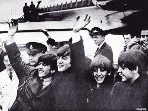 23 октября 1963, Перелёт Битлз на гастроли из Лондона в Стокгольм, Швеция