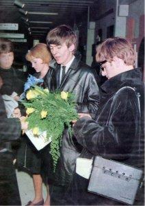 23 октября 1963 Битлз в Швеции