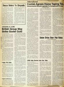 Окончание: British Group May Strike Soviet Gold.