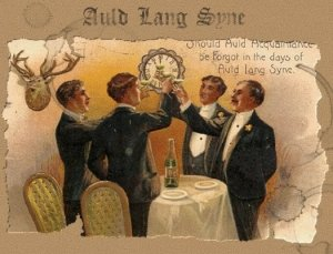 018) AULD LANG SYNE /4/  (traditional 1711, adapted by Robert Burns 1759-1796, (C) 1799)