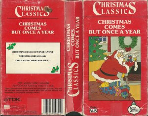 063)CHRISTMAS COMES BUT ONCE A YEAR /4/         (traditional/ lyrics from 1765 book Mother Goose's Melodies)