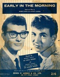 100)EARLY IN THE MORNING /3/          (Bobby Darin/ Woody Harris)