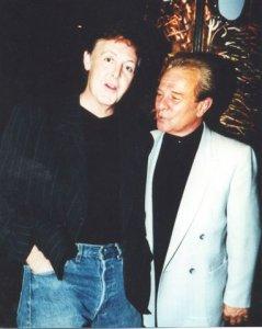На фото: Пол и Чарли Грейси