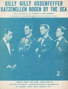 122)GILLY, GILLY, OSSENFEFFER, KATZENELLEN BOGEN BY THE SEA /3/          (Al Hoffman/ Dick Manning/ Wayne)