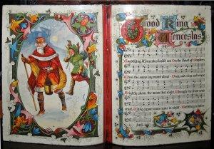 129)GOOD KING WENCESLAS /4/          (1853 traditional/ J.M. Neale)