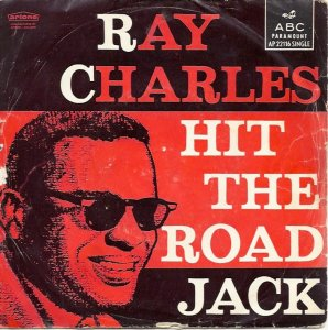 159)        HIT THE ROAD JACK /1, 5 - M/          (Percy Mayfield)