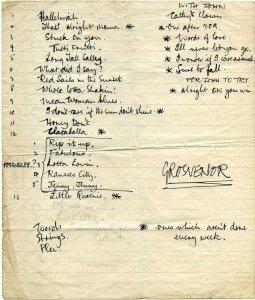 """Сохранился рукописный тетрадный листок начала 1961 года, где Пол перечисляет песни, которые он сольно исполнял на тот момент (слева) и вместе с Джоном (справа). Исходя из этих данных видно, что первым исполнял «Honey Don't» именно Пол. Затем по каким-то причинам песня перешла к Джону. В первых двух её исполнениях на радио пел он. Но вот при записи альбома """"Beatles For Sale"""" необходим был вокальный номер для Ринго, и песня перешла уже к нему. Ринго записал её за пять дублей (один из которых не состоялся из-за фальстарта) и с этого момента «Honey Don't» стала его вокальным номером в радиопрограммах и концертных выступлениях, которую он исполнил не менее чем 41 раз."""