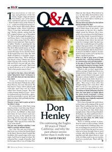 Rolling Stone 30 November 2017.
