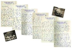 10 (New) Письмо Джорджа А́стрид Ки́рхгерр, где он вначале говорит, что купил «Ягуар» (машину), а затем жалуется, что все деньги зарабатывают Джон с Полом, а он - нищий и голодный. Просит Астрид выслать гамбургские фотографии группы, чтобы он мог выпустить с ними книгу и заработать.
