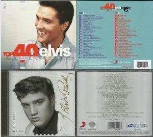 - Top 40 [2016] 2CD, Holland only - Elvis Forever [2015] Америкийн шуудан эксклюзив
