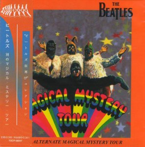 BEATLES  -  Alternative Magical Mystery Tour , 2003 (bootleg, different mixes) (Japanese mini-LP, remastered)ordinary 16 page booklet japanese / ОBI