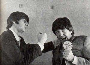 Записали бы они с Полом новый диск по этому поводу, как никак, два сэра...