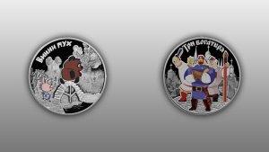Банк России объявил о выпуске в обращение с 28 декабря нескольких видов памятных монет из серебра и недрагоценных металлов. Наиболее крупным тиражом выпущены монеты, посвященные работам отечественных аниматоров — мультфильмам про Винни-Пуха или трех богатырей.