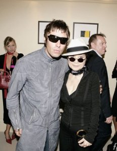 With Liam Gallagher