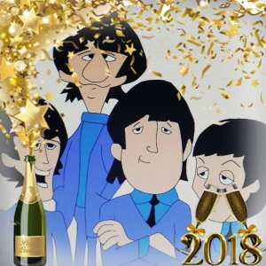 Happy New Year from the golden boys!