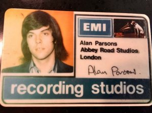 Алан Парсонс – штатный работник студии Abbey Road на должности помощника звукоинженера.
