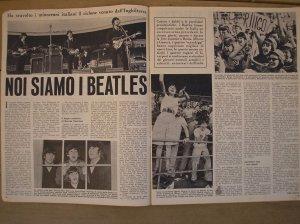 Фото Битлз на сцене - 24 июня 1965, Velodromo Vigorelli, Милан.