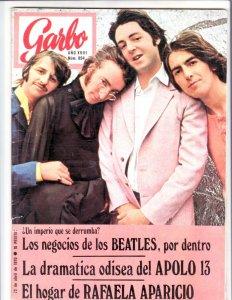 GARBO  апрель 1970