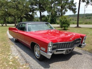 Elvis Presley's '67 Cadillac Coupe De Ville