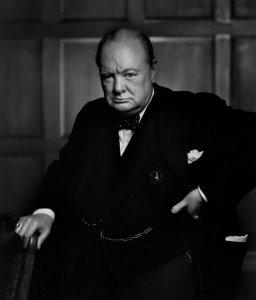 Угрюмый Черчилль.