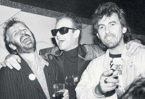 Ringo, Elton John & George
