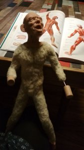 Просто титан одним словом киборг убийца)))))) Специально вот выкладываю фото что бы люди понимали что куклы ручной работы а не штамповка дешевая какая то. А то тут некоторые думают что я их печатаю на принтере))))))).