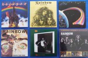 Rainbow - 5 Original Albums 2011 Universal Music International Division mini-vinyl