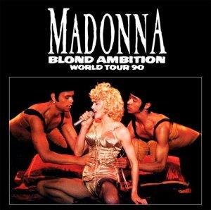 Тётенька Madonna с двумя дяденьками.