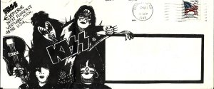 Октябрь 1993 г. Конверт фан-клуба Kiss Empire