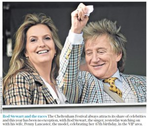 A Day at the Races  Картинка из сегодняшней The Daily Telegraph