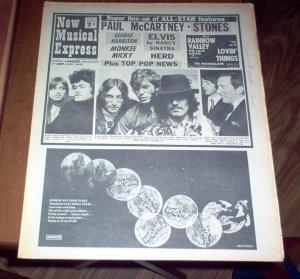New Musical Express  1 июня 1968 # 1116
