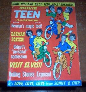 Movie Teen Illustrated  июль 1966