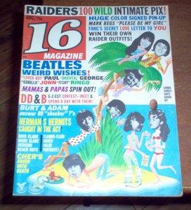16 Magazine  август 1966