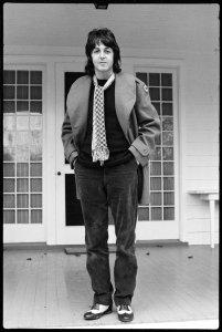 The McCartney's visit to East Hampton. New York, 1975