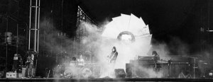 Pink Floyd at Knebworth. 5 July 1975.