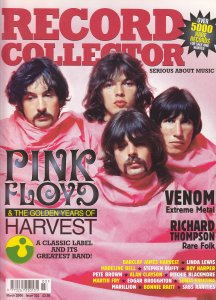 Pink Floyd - Record Collector Magazine - March 2006