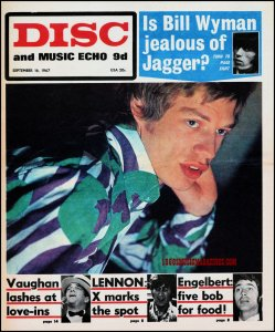 +++ Who wants yesterdays papers +++ Disc and Music Echo - 16th September 1967