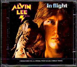 Alvin Lee & Co - In Flight, Repertoire Records, 1974.