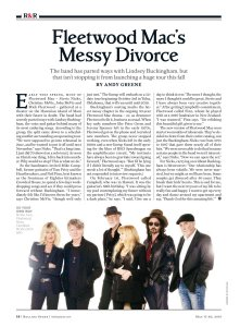 Rolling Stone 17 May 2018.