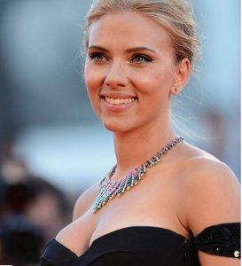 Scarlett Johansson on Red Carpet at the 70th Venice Film Festival in 2013
