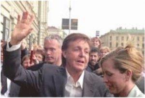 Не забудем, что на российскую землю Пол Маккартни впервые вступил 22 мая 2003 года в Санк-Петербурге.