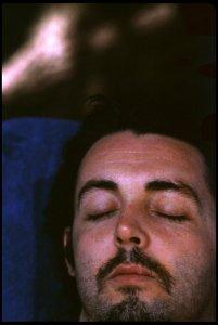 Paul in Jamaica. Photo by Linda McCartney