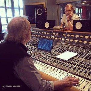 Начало лета 2017 года в студии Бенни Андерссона - RMV Studio.