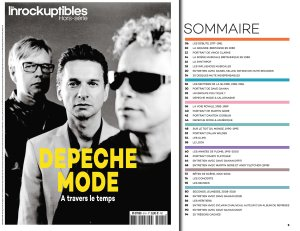 Les Inrockuptibles Special #91 2018 Depeche Mode
