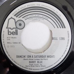 Barry Blue – Dancin' (On A Saturday Night)