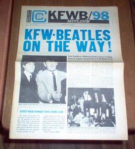 KFWB Hitline  23 августа 1965